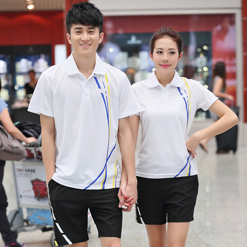 fb1daedf5888 Buy 2016 summer gym sportswear for men and women sports suit male couple  short sleeve t-shirt sleeve dress casual shorts jogging shorts in Cheap  Price on ...