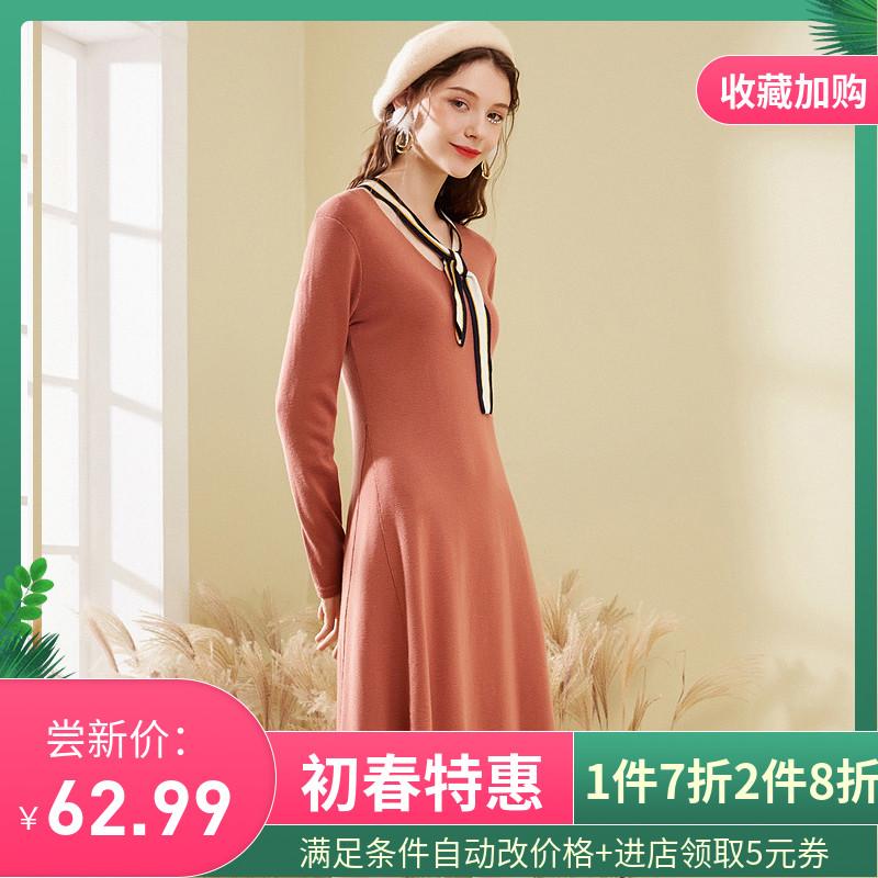 衣裙连衣裙女春装2020新品