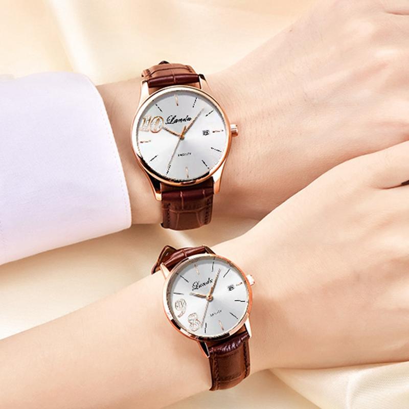 八九不离十情侣款手表