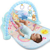 Freshmen bed bell 0-1 years 3-6 months 12 male baby baby toys educational music rotation bedside bell rattles woman