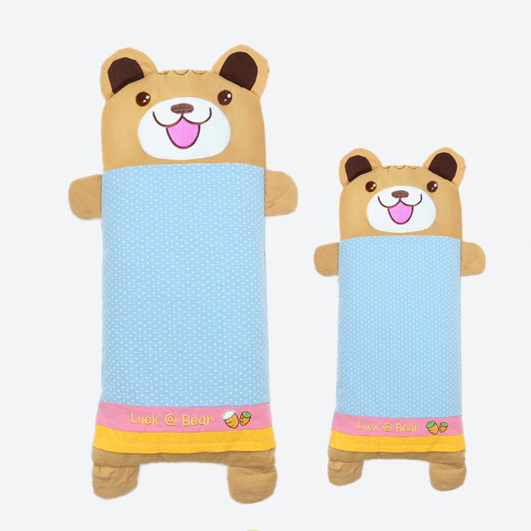 宝宝幼新生婴儿童枕头用品防偏头全棉荞麦卡通加长定型0-1-3-6岁