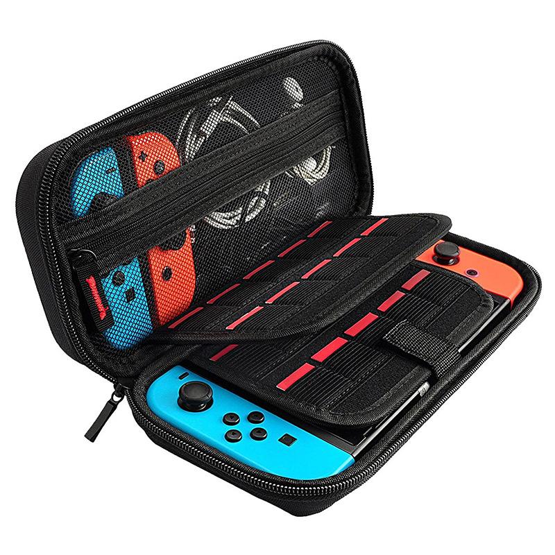 任天堂switch保護包ns收納盒防摔硬包便攜nintendo游戲機手拿軟包pro手柄支架盒子大主機箱套配件