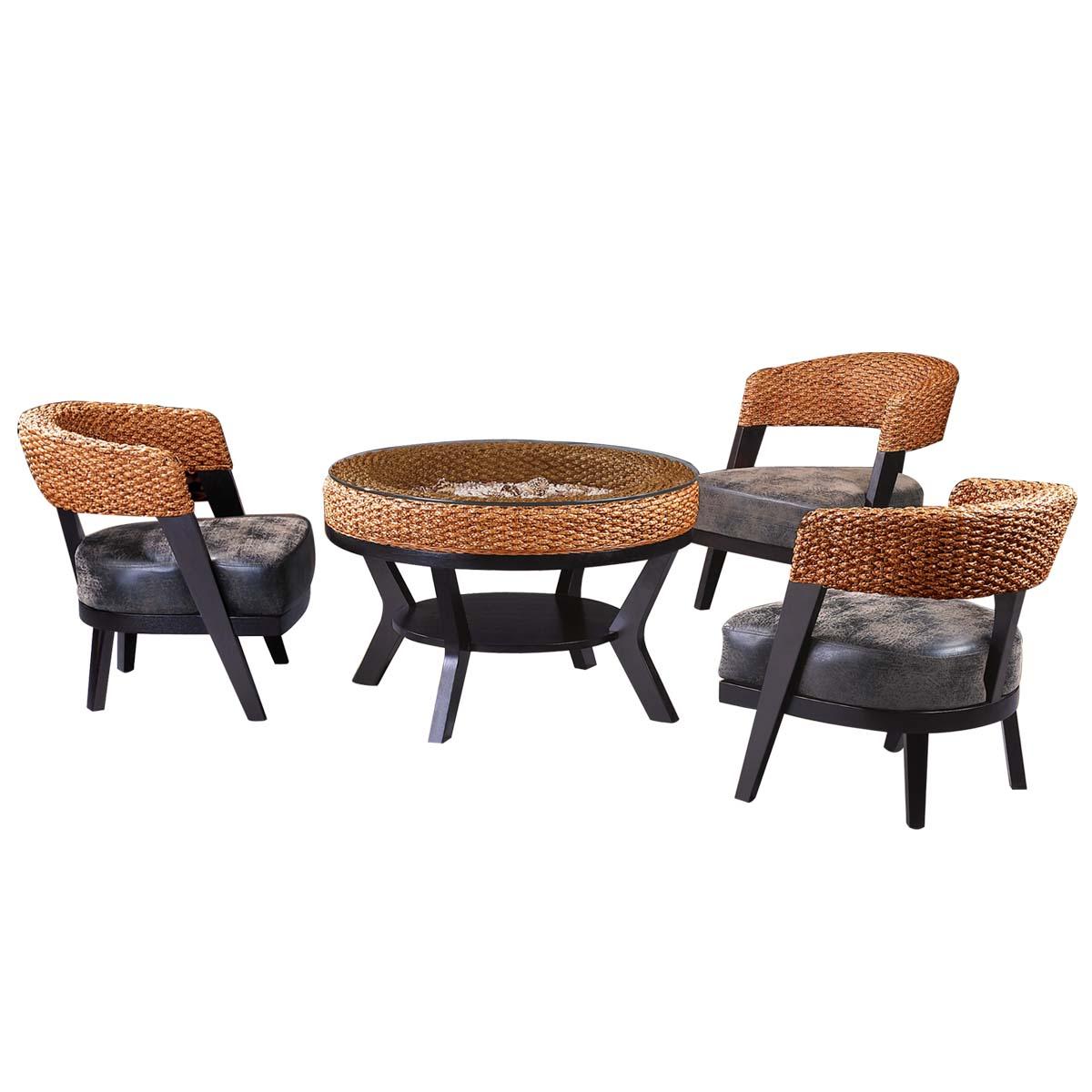 藤椅酒店餐厅饭店咖啡厅餐椅藤桌椅沙发椅子阳台休闲藤椅三五件套