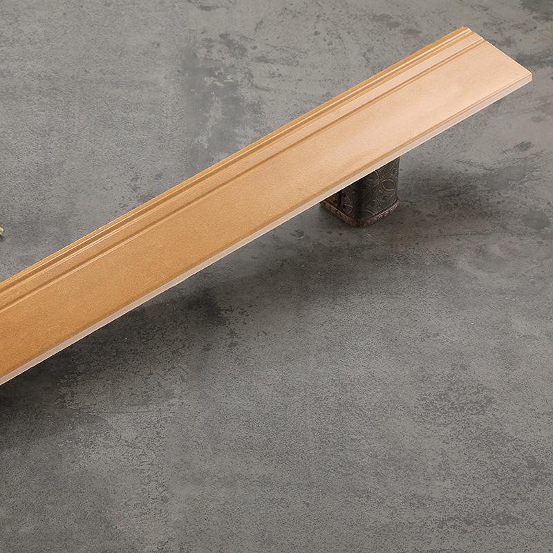 仿古木纹砖踢脚线瓷砖地脚线客厅地砖美式仿实木墙角线白色贴脚线