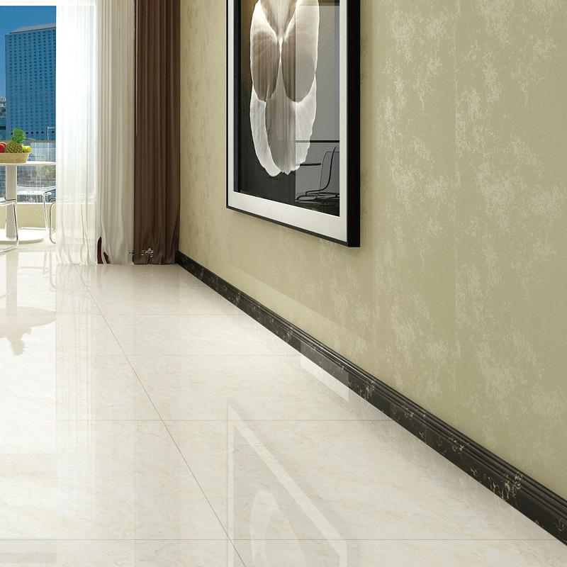白色踢脚线瓷砖北欧大理石贴脚线地砖简约地砖地脚线波导线门槛石