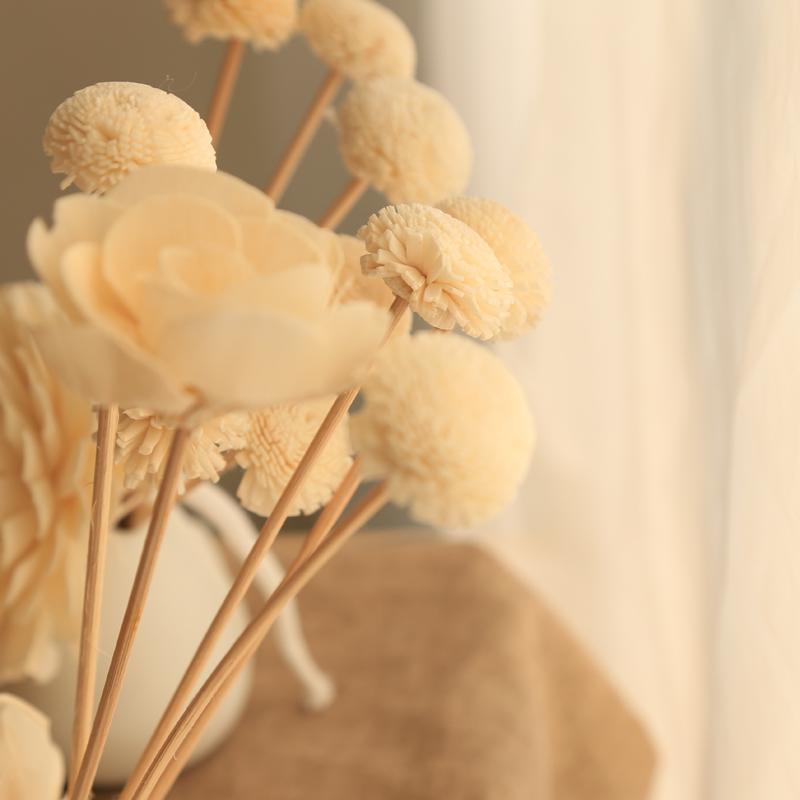敖世香薰无火香薰藤条假客厅内花朵精油仿真套装干花香氛熏香摆件