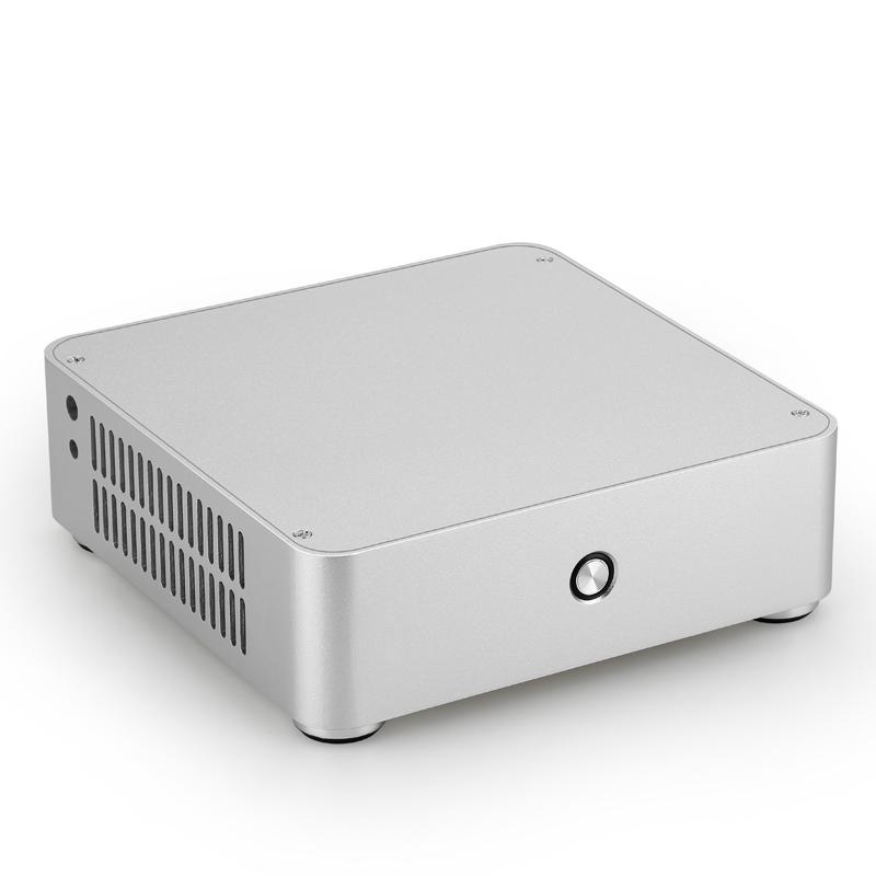 e.Mini立人机箱 itx迷你机箱台式全铝电脑HTPC小机箱卧式mini机箱