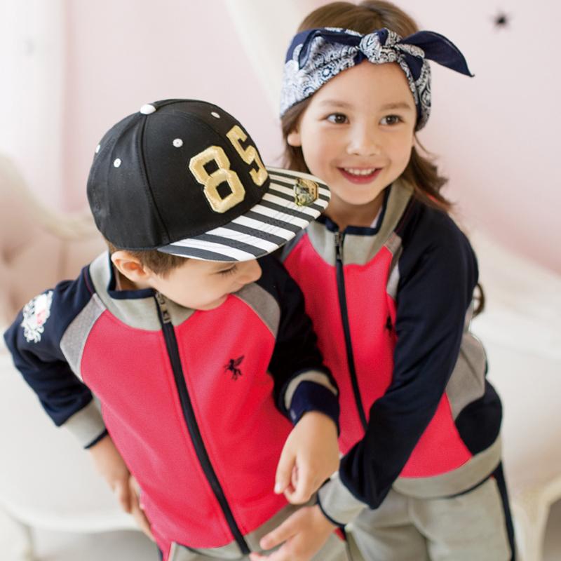 幼儿园园服春秋套装小学生校服老师亲子运动英伦风儿童班服