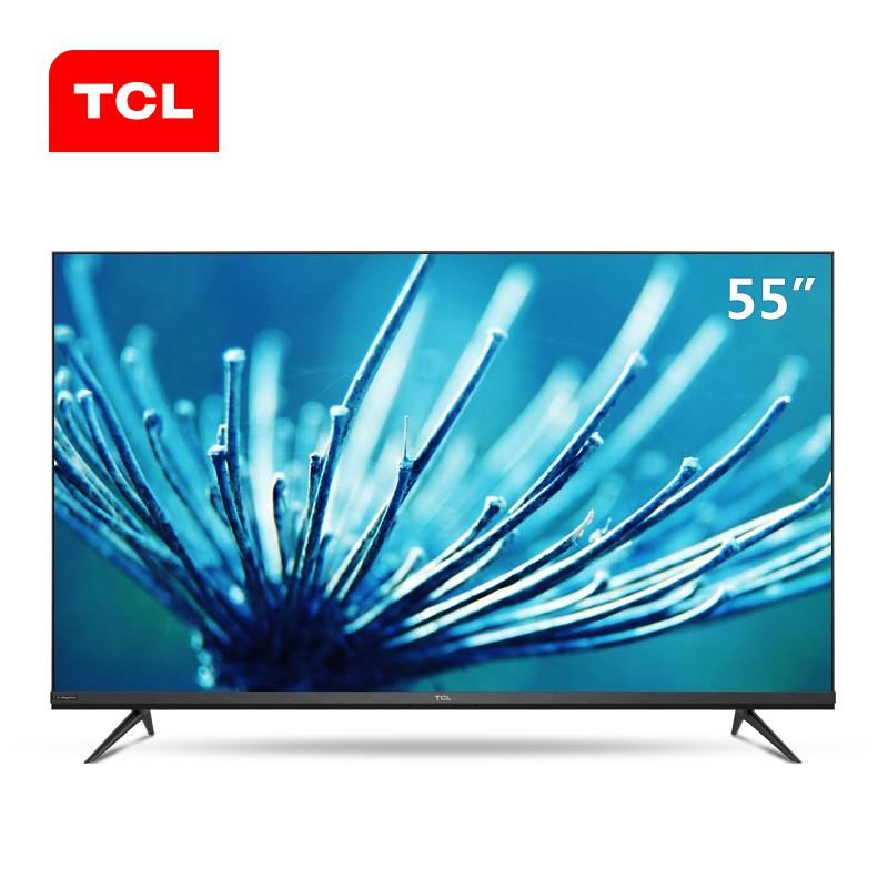 65 60 超清液晶平板网络智能电视 4K 全面屏 AI 声控 英寸 55 55V6M TCL