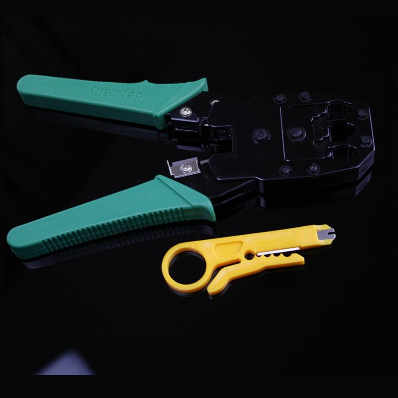 正品网线钳套装网络工具 网线测线仪测线器+水晶头夹线钳压线钳子