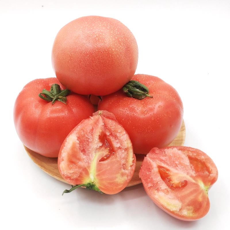 西红柿 自然熟 5斤装 鲜摘 沙瓤 番茄 新鲜蔬菜 水果 洋柿子 B世