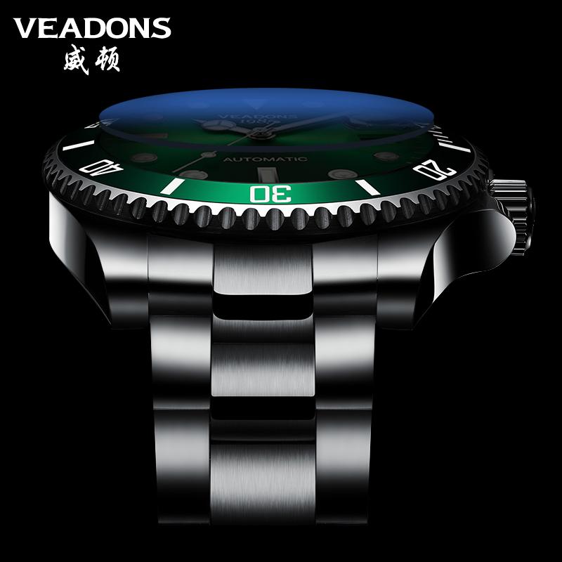 新款绿水怪水鬼十大手表男士全自动机械男表正品牌名牌非瑞士 2020