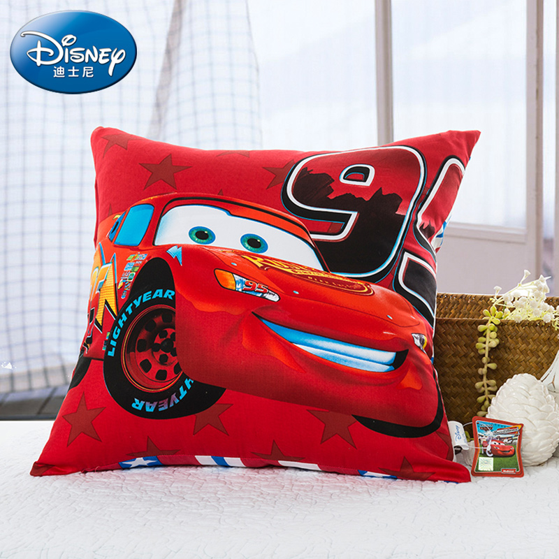迪士尼抱枕創意靠墊辦公室可愛靠枕米妮枕芯沙發枕頭靠墊汽車方墊