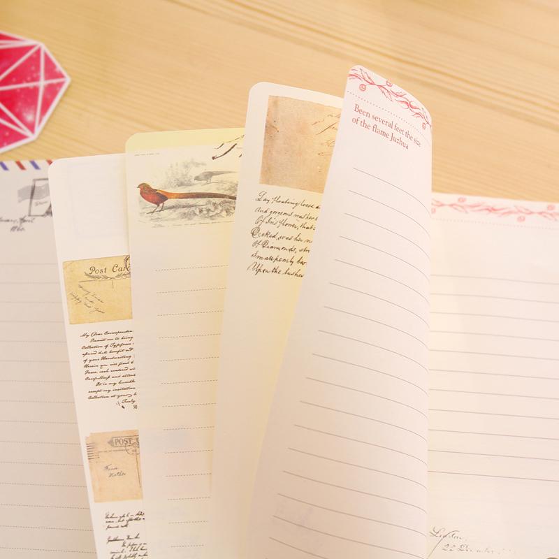 韩国文具唯美彩页本子笔记本子创意彩页日记本插画硬面抄本子