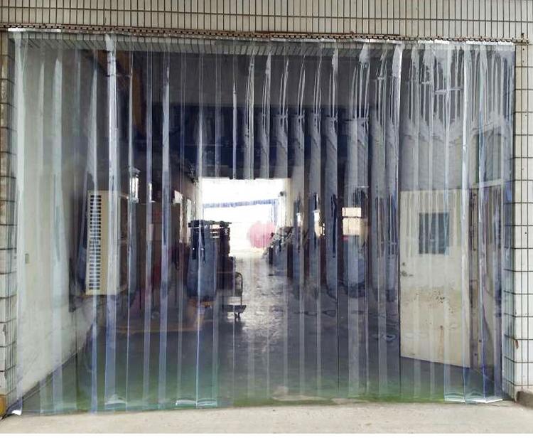 夏季软门帘pvc透明塑料 挡风防尘隔断皮帘子家用隔热保温隔空调帘