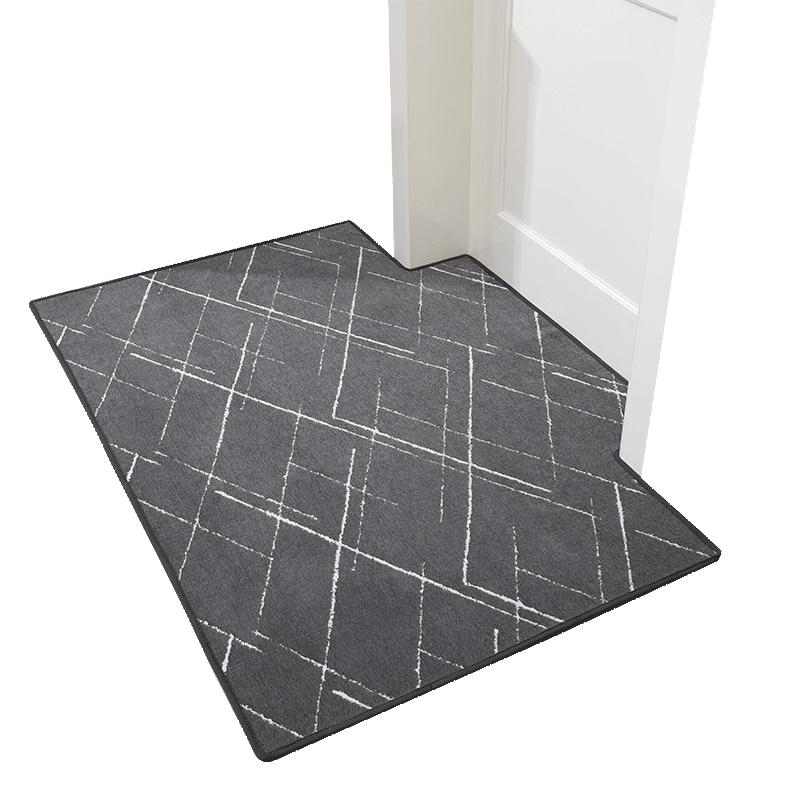 门口进门门垫定制入户门脚垫门厅客厅卧室地毯家用简约地垫防滑