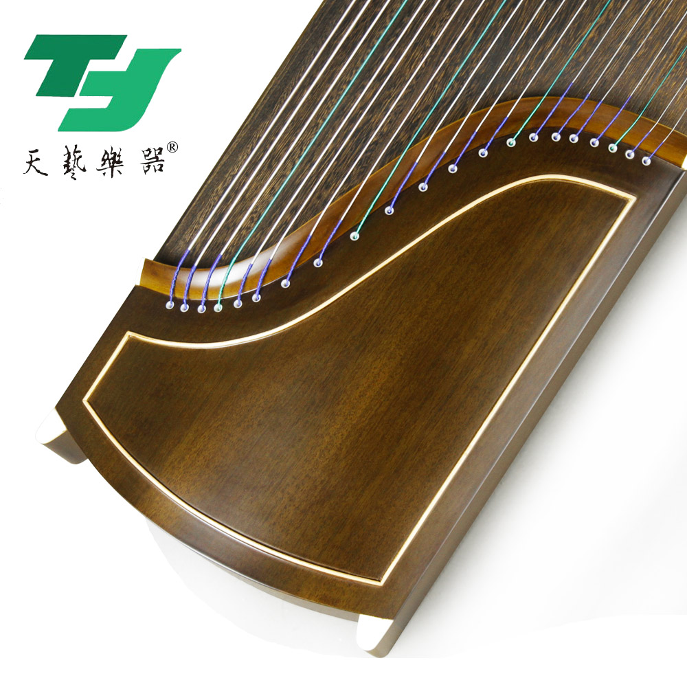 扬州天艺古筝红木胡桃木素面大人儿童初学者学习入门考级演奏用琴