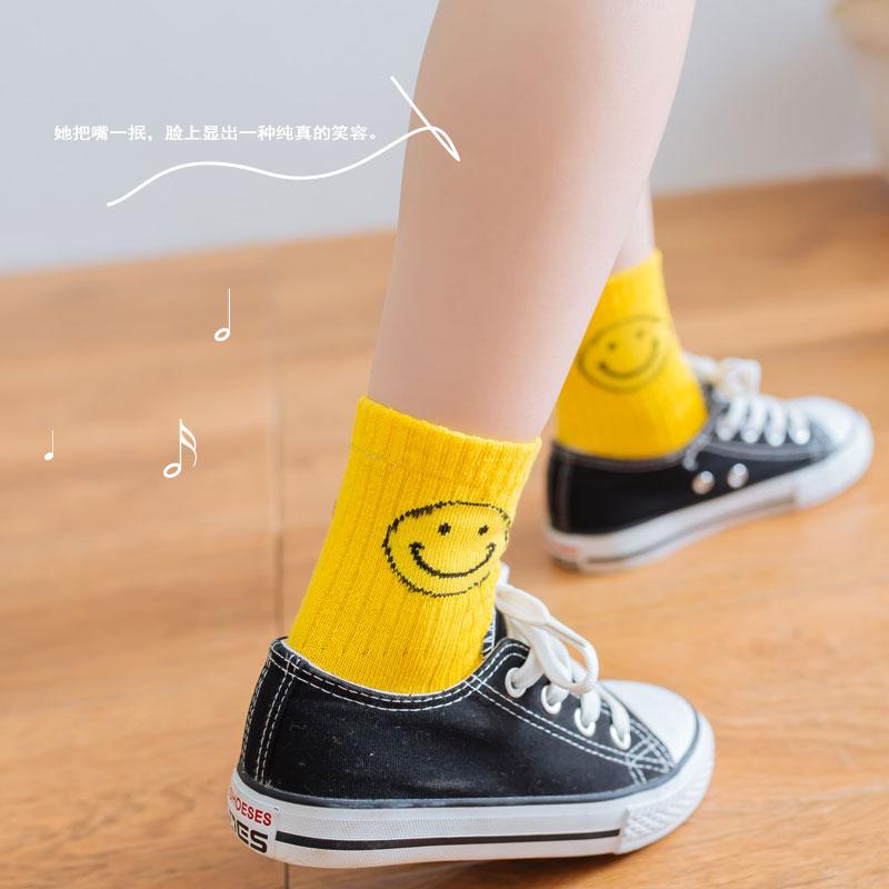 春秋款童袜全棉儿童袜子卡通纯棉儿童袜男童女童袜宝宝袜 双装  5