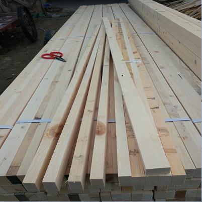 烘干刨光加松木龙骨家装工装隔墙吊顶精品实木木方料木条子打木架