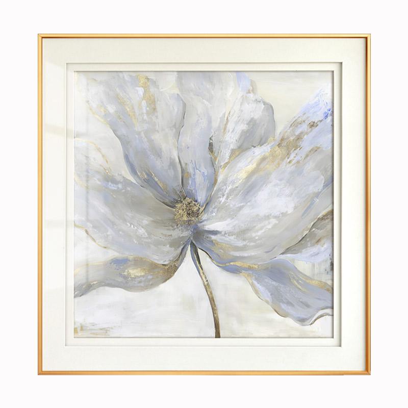 花卉客廳裝飾畫簡美沙發背景墻掛畫進門玄關墻壁畫別墅臥室床頭畫