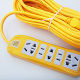 Household inserted row multi-socket porous strip line card with multiple long strip power strip extension cord plug Panel