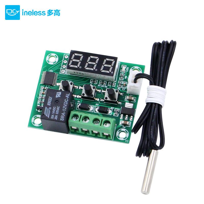 数显智能温控器XH-W1209 高精度温控仪温控开关微型温控板带探头