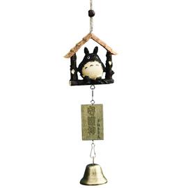 风铃挂饰小清新铜铃铛挂件植物日式创意挂门房间装饰品女生日礼物