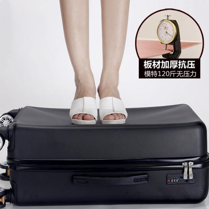 寸拉杆箱旅行箱潮 24 机器猫时尚高中生学生大容量万向轮密码行李箱