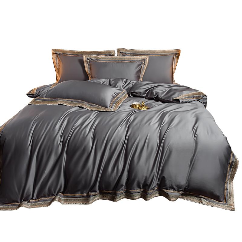 4 支長絨棉四件套全棉純棉輕奢北歐風床單被套床笠酒店床品新款 200