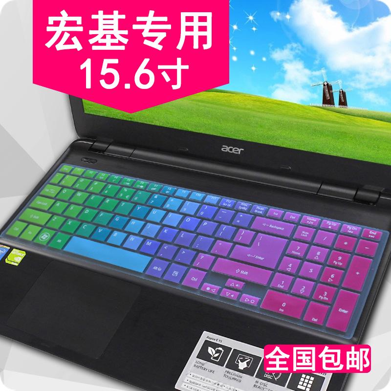 巨集基Acer筆記本鍵盤膜15.6寸E5/V3-572G E1-570G v3-571g V3-772G