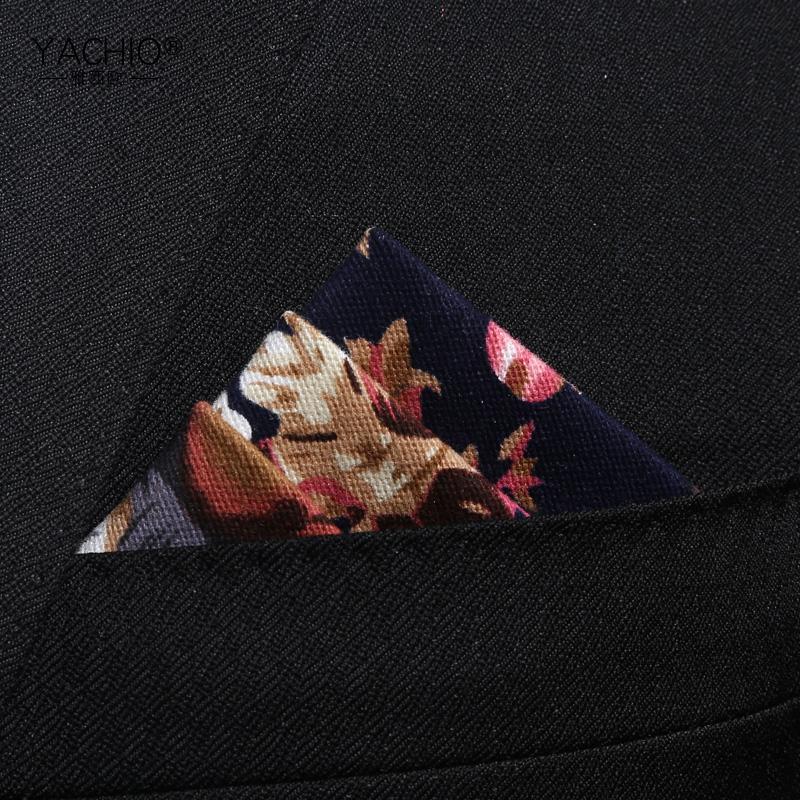 雅西欧 水墨纹口袋巾 男士西装正装商务棉口袋方巾男配饰礼盒包邮