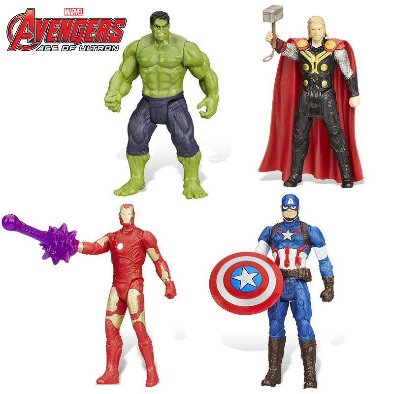 孩之宝漫威复仇者联盟2英雄明星可动人偶电能公仔儿童节玩具礼物