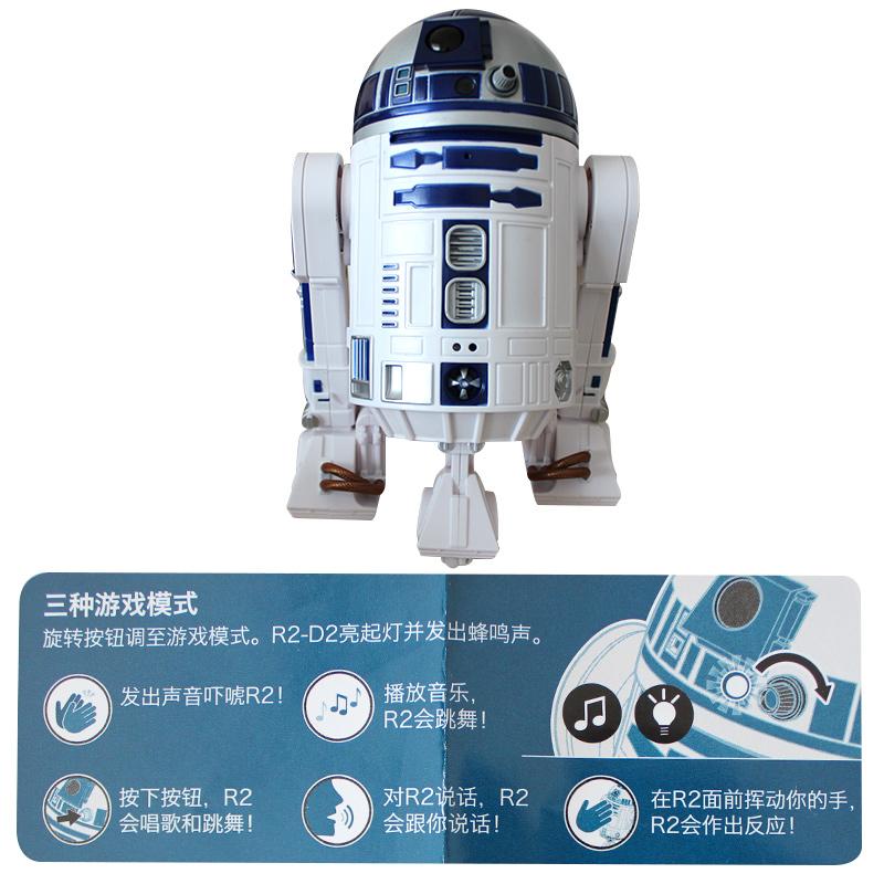 孩之宝星球大战APP电动遥控智能编程R2-D2对话机器人儿童礼物玩具