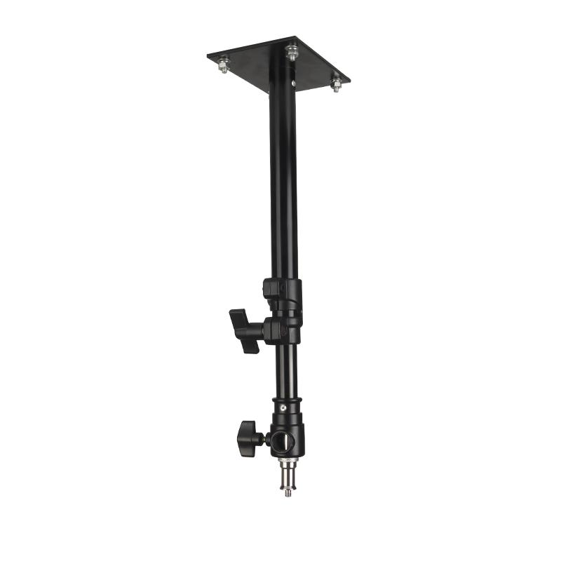 气垫吊顶灯架 两节伸缩摄影灯架挂顶式影视灯摄影棚吊架专用摄影专业配件道具便携外出便携