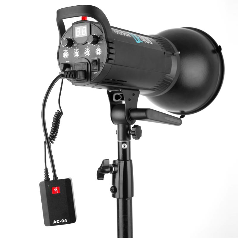 AC-04多通道引闪器影视闪光灯棚影楼无线触发器for佳能尼康通用摄影配件相机离机同步器机顶热靴