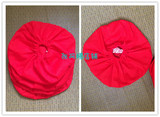 Manager recommended Busha cotton bags instead of red wine jar sealing lid cover does not provide sand bags