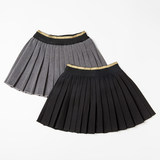 Girls pleated skirt 2019 Korean version of the new medium and large children's princess foreign style pure cotton college style performance skirt