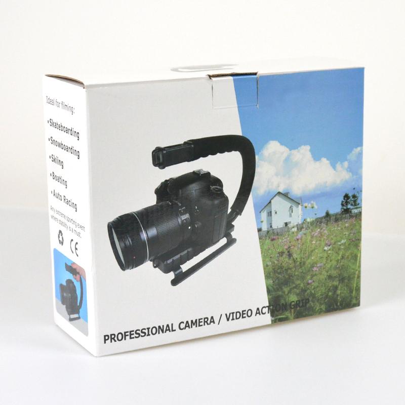 GreenL格林尔 手机录像支架 手持U型稳定器单反拍摄影 专利产品