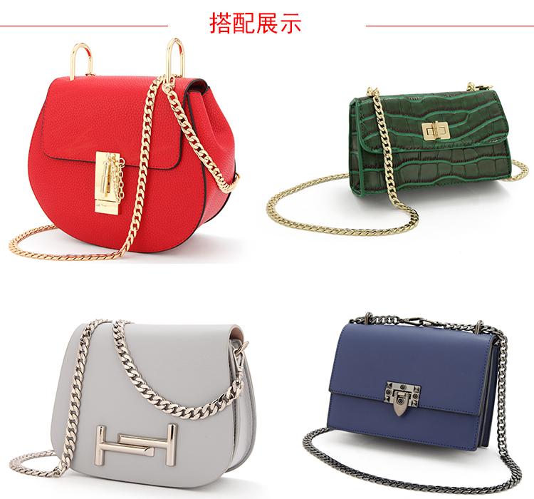 女包配件链条包包链子单买金色链条金属包包的链条替换斜跨金属链