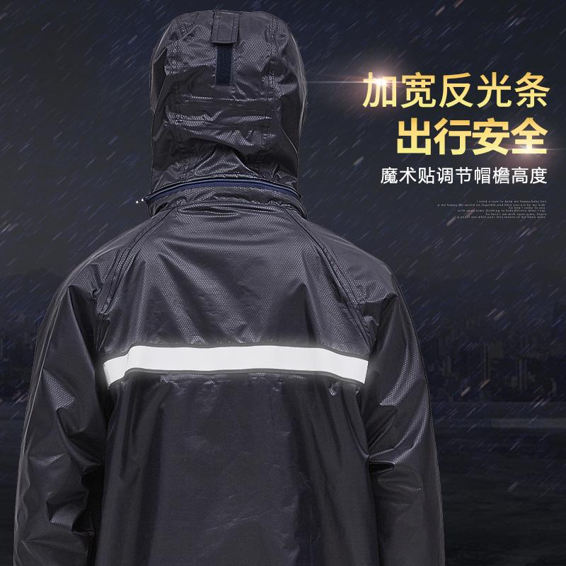 雨衣雨裤套装分体防水男女电动摩托电动车骑行双层加厚防暴雨雨衣