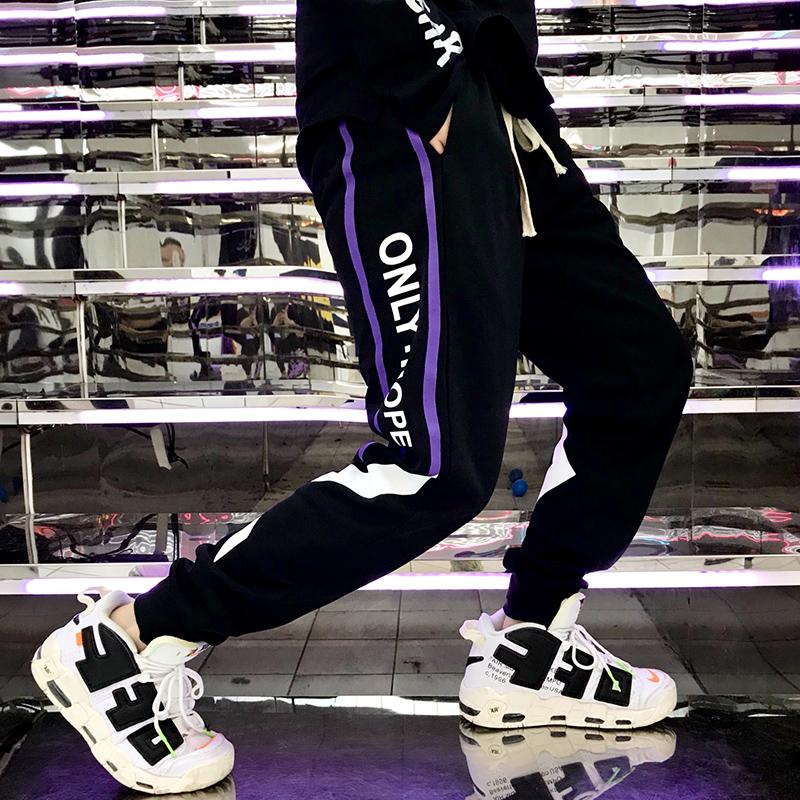 冬季13初中学生14大童15韩版潮流16岁男孩休闲长裤潮牌束脚工装裤