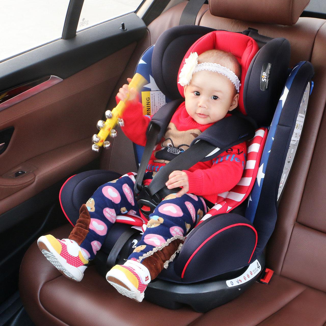 REEBABY儿童安全座椅汽车用0-12岁宝宝婴儿新生儿车载通用可躺坐
