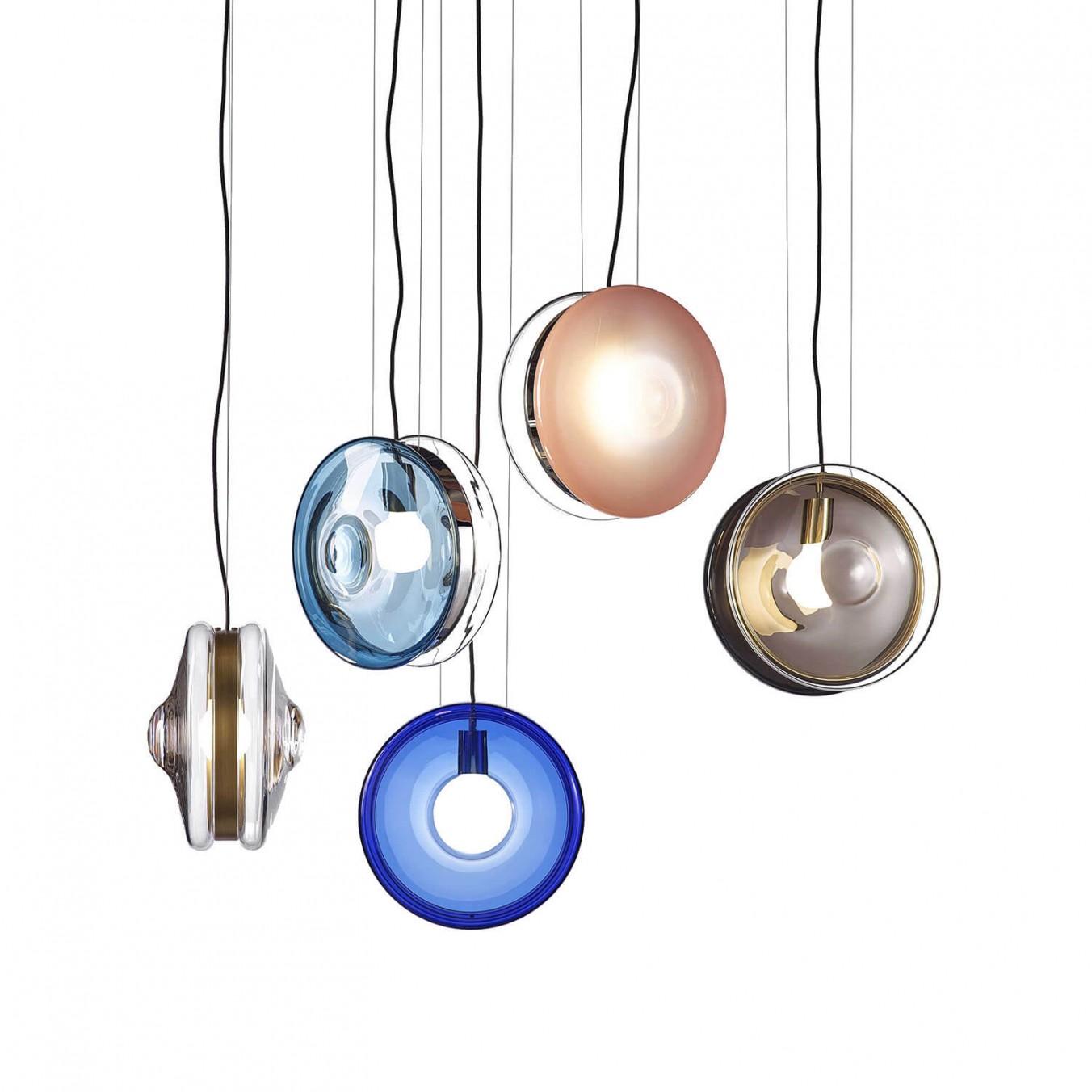北欧后现代马卡龙玻璃客厅吊灯餐厅服装店咖啡厅简约轻奢艺术灯具
