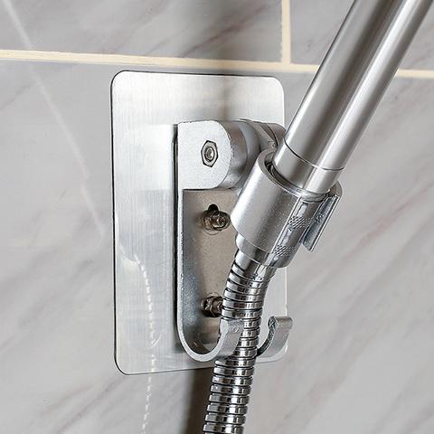 花洒支架免打孔固定座淋浴莲蓬头淋雨浴室挂钩配件可调节喷头架