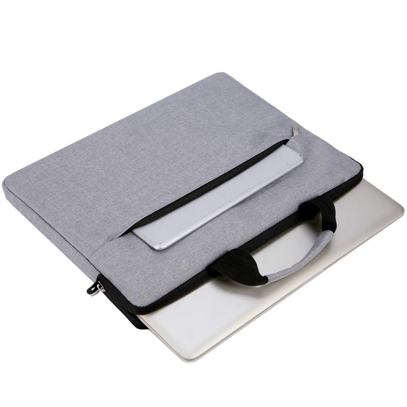 苹果小米13.3寸14寸单肩斜跨电脑包15.6寸手提包内胆公文包男女士
