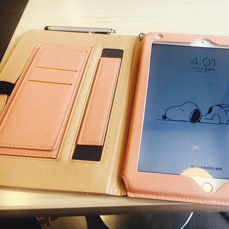 【升級版】2019新款mini5蘋果ipad mini4保護套7.9寸迷你2防摔A1538皮套全包邊模擬皮平板電腦a1583殼子a1489