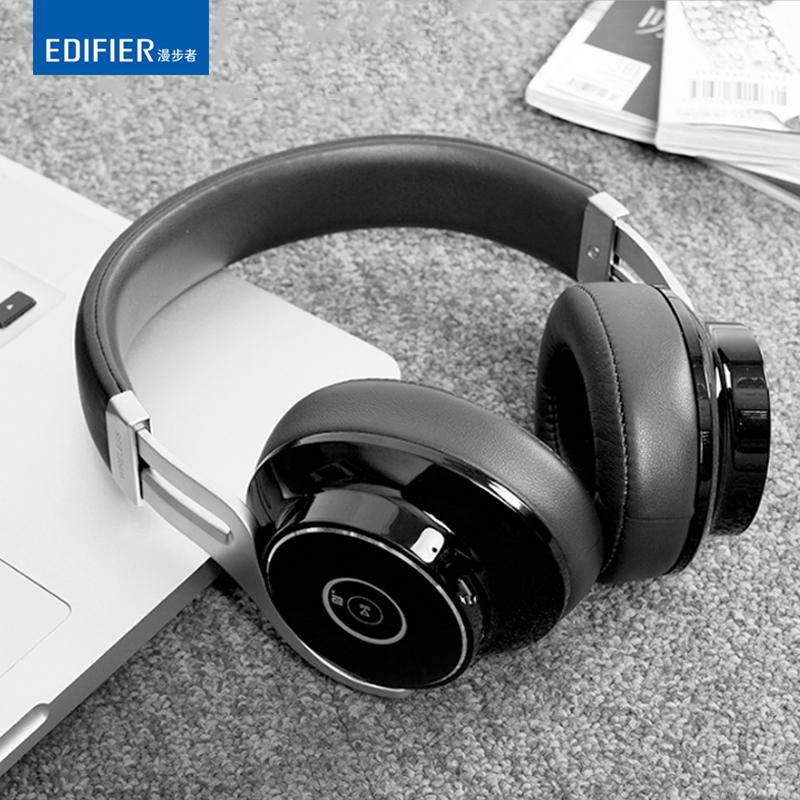 Edifier/漫步者 W855BT 便攜頭戴式無線藍芽耳機降噪HIFI通話耳機