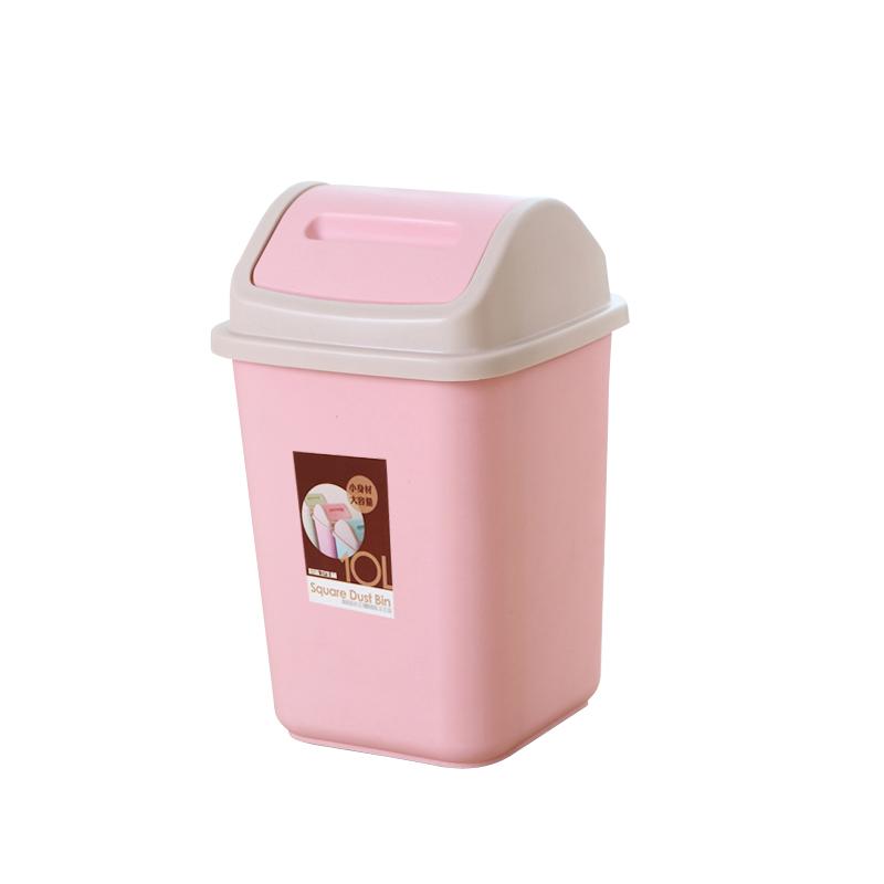分类垃圾桶家用带盖大号筒厨房纸篓厕所创意有盖卫生间客厅可爱拉