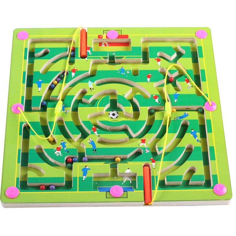 儿童益智2-3-4-5-6岁磁性大号迷宫玩具走珠宝宝小孩早教智力开发