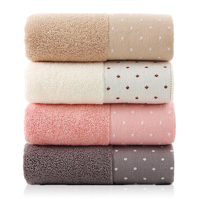 新疆长绒棉 4条 莱朵 成人洗脸洗澡全棉柔软毛巾